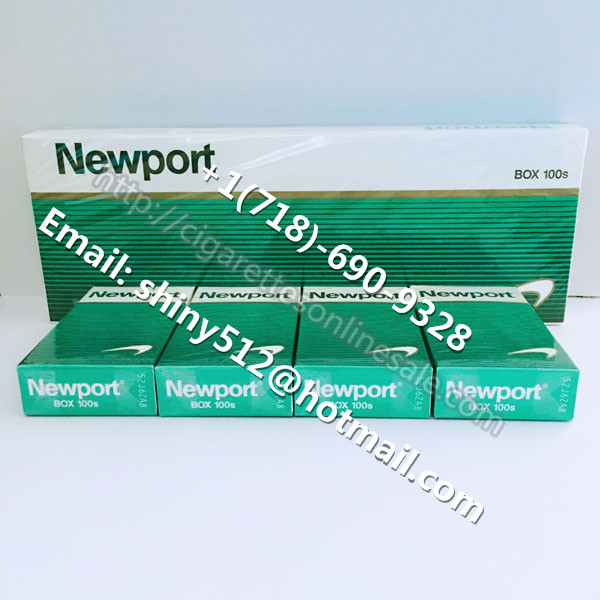 160 Cartons Of Newport 100s Menthol Cigarettes