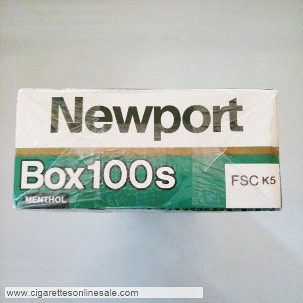 10 Cartons Of Newport 100s Menthol Cigarettes