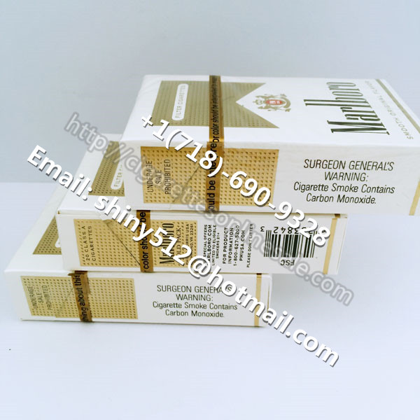 3 Carton Of Marlboro Gold Regular Cigarettes