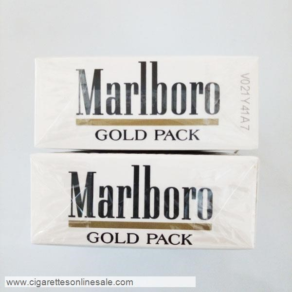 10 Carton Of Marlboro Gold Regular Cigarettes