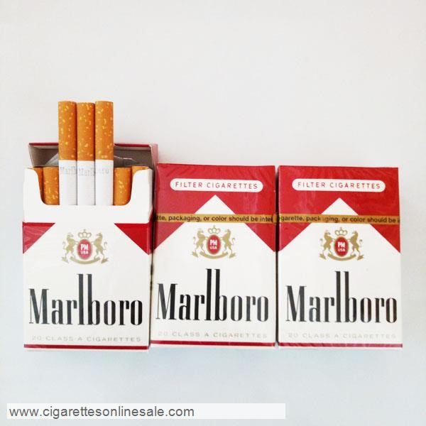 3 Carton Of Marlboro Red Regular Cigarettes