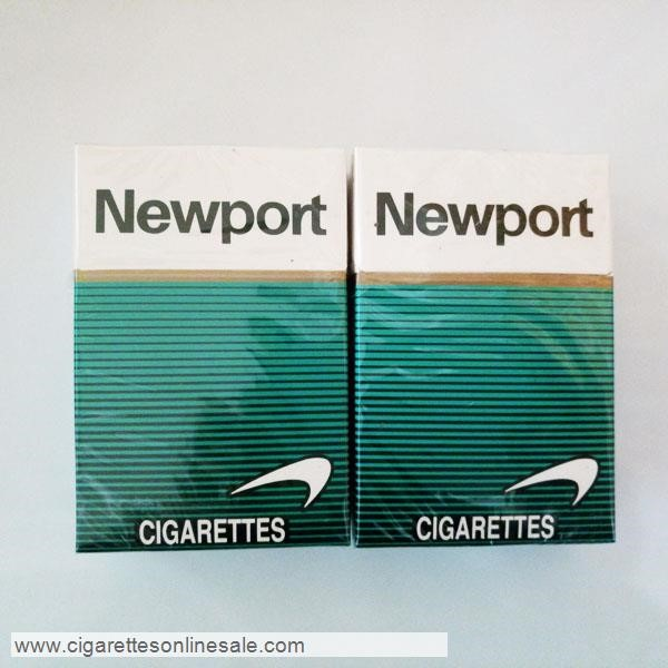 3 Carton Of Newport Regular Menthol Cigarettes