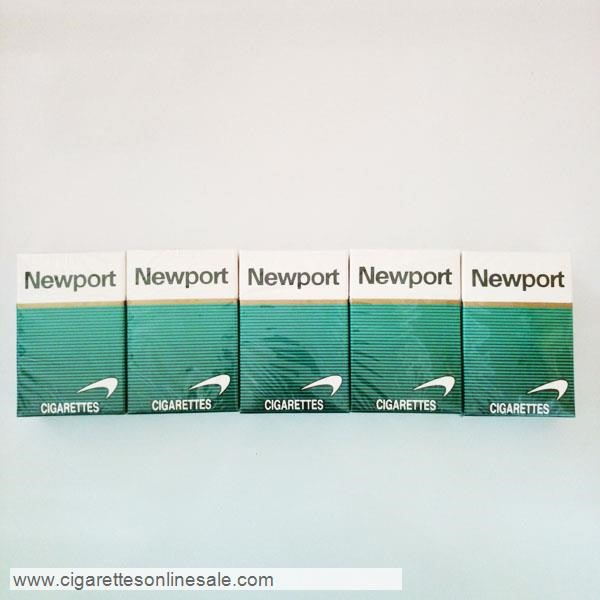 30 Carton Of Newport Regular Menthol Cigarettes